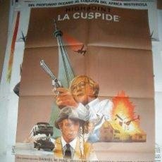 Cine: POSTER ORIGINAL DE CINE 60X85CM LA CÚSPIDE. Lote 62073688