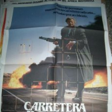 Cine: POSTER ORIGINAL DE CINE 70X100CM CARRETERA AL INFIERNO. Lote 62074044