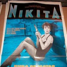 Cine: POSTER ORIGINAL DE CINE 70X100CM NIKITA. Lote 62089808