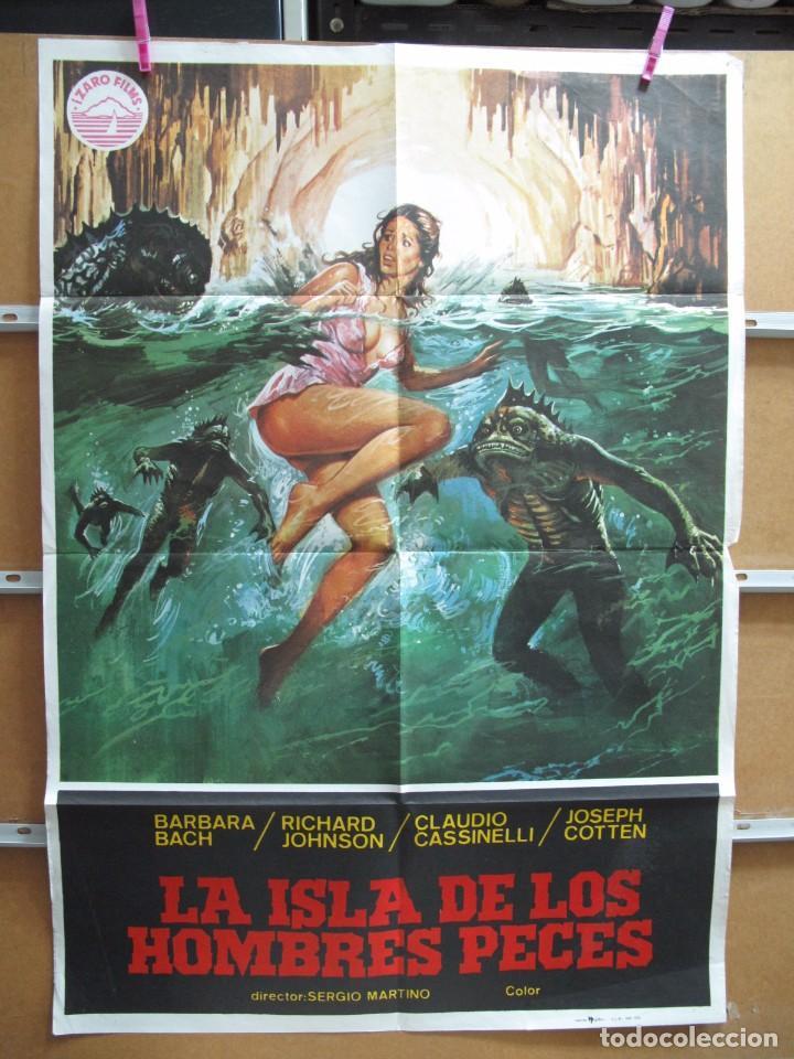 GND890 LA ISLA DE LOS HOMBRES PECES (Cine - Posters y Carteles - Terror)