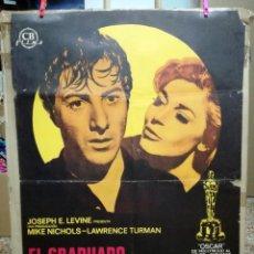 Cine: EL GRADUADO - 1969 - DE MIKE NICHOLS CON ANNE BANCROFT Y DUSTIN HOFFMAN . Lote 62114432