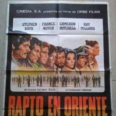 Cine: CARTEL DE CINE ORIGINAL RAPTO EN ORIENTE (THE BIG GAME). Lote 62283012