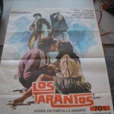 Cine: POSTER ORIGINAL DE CINE 70X100CM LOS TARANTOS. Lote 111499787