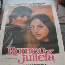 Cine: POSTER ORIGINAL DE CINE 70X100CM ROMEO Y JULIETA. Lote 190814187
