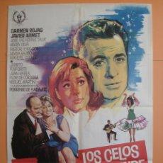 Cine: CARTEL , POSTER CINE - ORIGINAL - LOS CELOS Y EL DUENDE - AÑO 1967- DIR: SILVIO BALBUENA... R- 3373. Lote 62344739