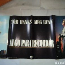 Cine: POSTERS ORIGINAL. ALGO PARA RECORDAR, APAISADO. MEDIDAS 140X63,CTS. TOM HANKS. . Lote 62386144