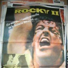 Cine: POSTER ORIGINAL DE CINE 70X100CM ROCKY II. Lote 94758362