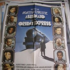 Cine: ASESINATO EN EL ORIENT EXPRESS. AGATHA CHRISTIE. ALBERT FINNEY, LAUREN BACALL. Lote 62543104