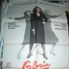 Cine: POSTER ORIGINAL DE CINE 70X100CM GLORIA. Lote 62622156
