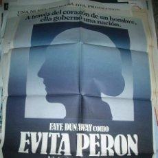 Cine: POSTER ORIGINAL DE CINE 70X100CM EVITA PERÓN. Lote 62622284