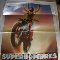 Cine: POSTER ORIGINAL DE CINE 70X100CM SUPERHOMBRES. Lote 62674284