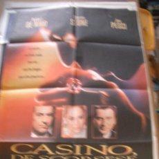 Cine: POSTER ORIGINAL DE CINE 70X100CM CASINO DE ESCORSSESE. Lote 62674672