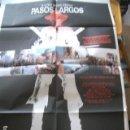 Cine: POSTER ORIGINAL DE 70X100CM PASOS LARGOS. Lote 62675072