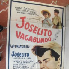 Cine: JOSELITO CARTEL DE LA PELICULA JOSELITO VAGABUNDO 70 X 105... . Lote 62924416