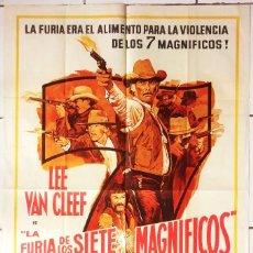 Cine: LA FURIA DE LOS SIETE MAGNÍFICOS (1969) GUNS OF THE MAGNIFICENT SEVEN GEORGE KENNEDY. Lote 62995424