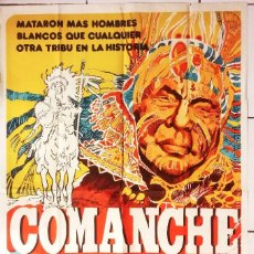 Cine: COMANCHE (1956) ( DUELO DE RAZAS ). Lote 62996336