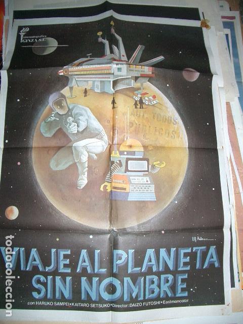 POSTER ORIGINAL DE CINE 70X100CM VIAJE AL PLANETA SIN NOMBRE (Cine - Posters y Carteles - Ciencia Ficción)