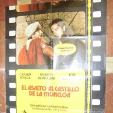 Cine: CARMEN SEVILLA CARTEL DE LA PELICULA ASALTO AL CASTILLO DE LA MONCLOA 70 X 105... . Lote 63023608