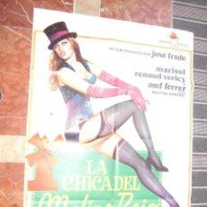 Cine: MARISOL CARTEL DE LA PELICULA LA CHICA DEL MOLINO ROJO 70 X 105... . Lote 63023852