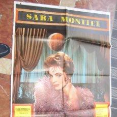 Cine: SARITA SARA MONTIEL CARTEL DE LA PELICULA LA REINA DEL CHANTECLER 70 X 105... . Lote 63024284