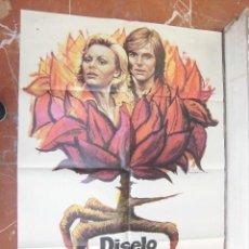 Cine: ROCIO DURCAL CARTEL DE LA PELICULA DISELO CON FLORES 70 X 105... . Lote 63025096