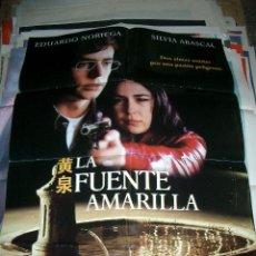 Cine: POSTER ORIGINAL DE CINE 70X100CM LA FUENTE AMARILLA. Lote 63138552