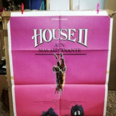 Cine: HOUSE II CARTEL ORIGINAL 100X70 CM. Lote 63173532