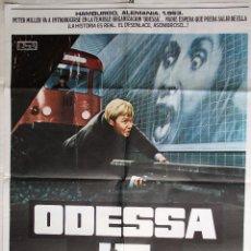Cine: CARTEL CINE. ODESSA. 1974. Lote 63188680
