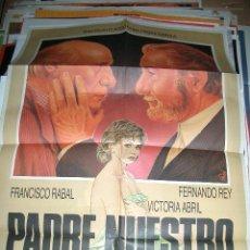 Cine: POSTER ORIGINAL DE 70X100CMPADRENUESTRO. PACO RABAL. Lote 63346492