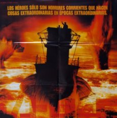 Cine: CARTEL DE CINE U-571. JONATHAN MOSTOW. Lote 63383448