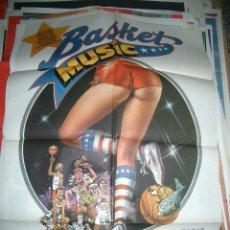 Cine: POSTER DE CINE ORIGINAL 70X100CM BASQUET MUSIC. Lote 63405572