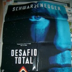 Cine: POSTER DE CINE ORIGINAL 70X100CM DESAFÍO TOTAL. Lote 63408208