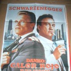 Cine: DANKO CALOR ROJO BELUSHI. Lote 63484980