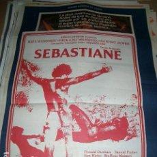 Cinéma: SEBASTIANE POSTER DE CINE ORIGINAL. Lote 63494476