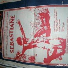 Cine: SEBASTIANE POSTER DE CINE ORIGINAL. Lote 63494476