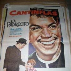 Cine: PÓSTER DE CINE ORIGINAL DE EL PADRECITO DE CANTINFLAS. Lote 63596720