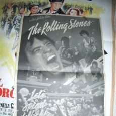Cine: ROLLING STONES LET'S SPEND THE NIGHT TOGETHER MEDIO FORMATO. Lote 179175937