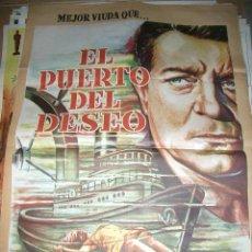 Cine: EL PUERTO DEL DESEO DE JEAN GABIN CON ANDREE DEBAR 1963. Lote 63606840