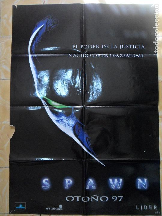 SPAWN --- CARTEL ORIGINAL ESPAÑOL --- 70X100 CM (Cine - Posters y Carteles - Ciencia Ficción)