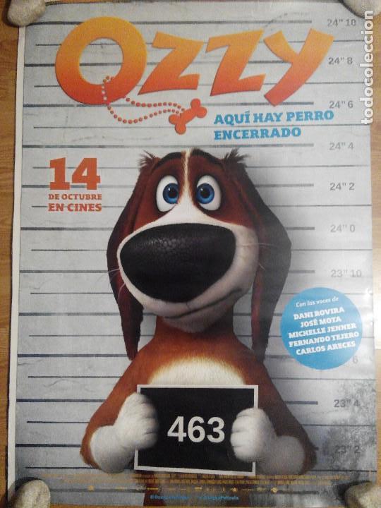 OZZY - APROX 70X100 CARTEL ORIGINAL CINE (L34) (Cine - Posters y Carteles - Infantil)
