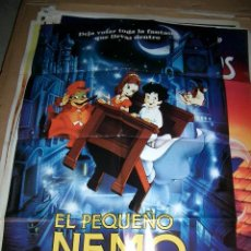 Cine: PÓSTER DE CINE ORIGINAL 70X100CM EL PEQUEÑO NEMO. Lote 63702471