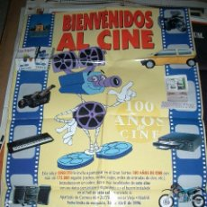 Cine: PÓSTER ORIGINAL DE CINE 70X100CM BIENVENIDOS AL CINE. Lote 63768615