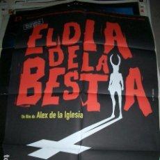 Cine: POSTER ORIGINAL DE CINE 70X100CM EL DÍA DE LA BESTIA, SIN USAR. Lote 99758419