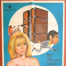 Cine: POSTER CARTEL CINE ORIGINAL , LA VALIJA , 1971. Lote 63783935