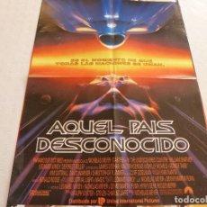 Cine: POSTER-STAR TREK VI-AQUEL PAIS DESCONOCIDO-(56CM X 42CM).. Lote 63786943