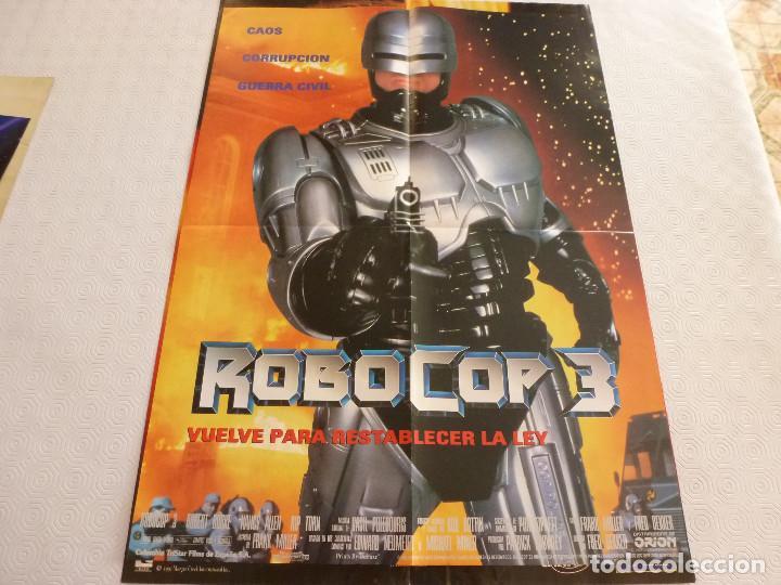 POSTER-ROBOCOP 3-(57CM X 42CM). (Cine - Posters y Carteles - Acción)
