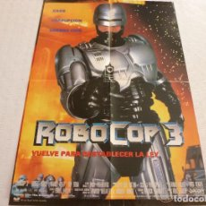Cine: POSTER-ROBOCOP 3-(57CM X 42CM).. Lote 63787499