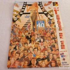 Cine: POSTER 1º CENTENARIO DEL CINE-LOS AÑOS 40-(47CM X 35CM). Lote 63788771