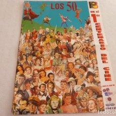Cine: POSTER 1º CENTENARIO DEL CINE-LOS AÑOS 50-(47CM X 35CM). Lote 63788955