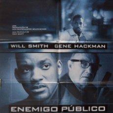 Cine: CARTEL DE CINE ENEMIGO PÚBLICO 1998. Lote 64007467
